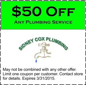 50-Off-Plumbing Service